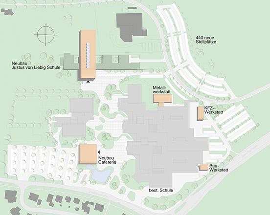 Erweiterung Kreisberufsschulzentrum in Aalen