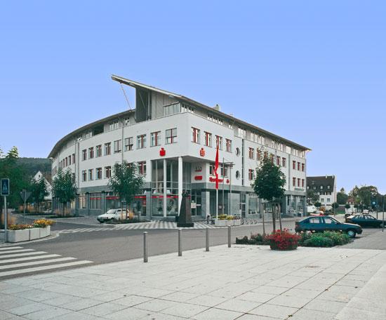 Neubau Sparkasse in Blumberg