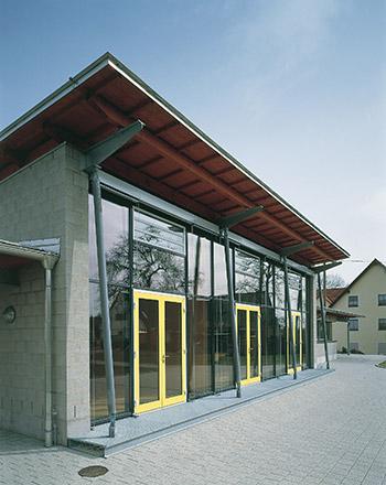 Neubau Katholisches Gemeindezentrum in Dornhan