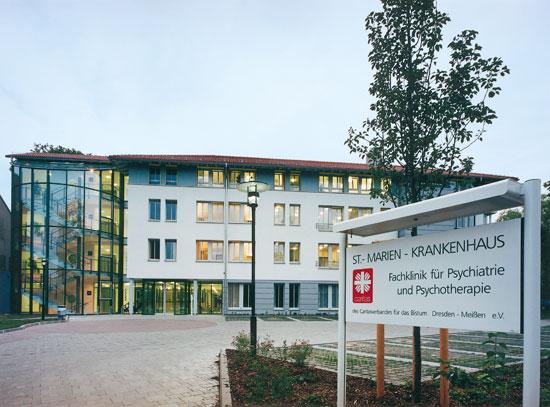 Neubau Krankenhaus in Dresden-Klotzsche