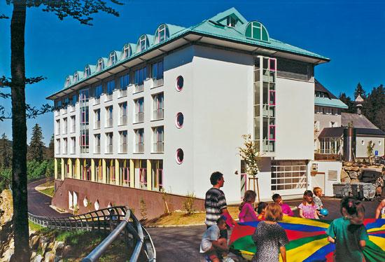 Neubau Klinik für Verhaltensmedizin auf dem Feldberg