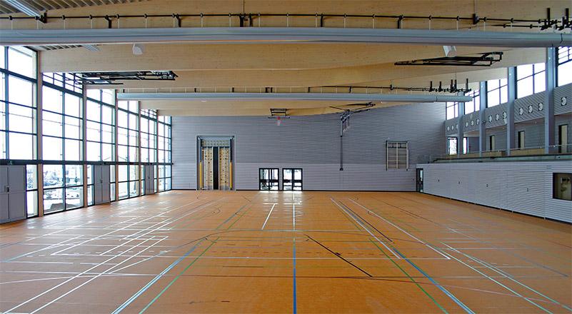 Neubau Mehrzweckhalle in Frittlingen