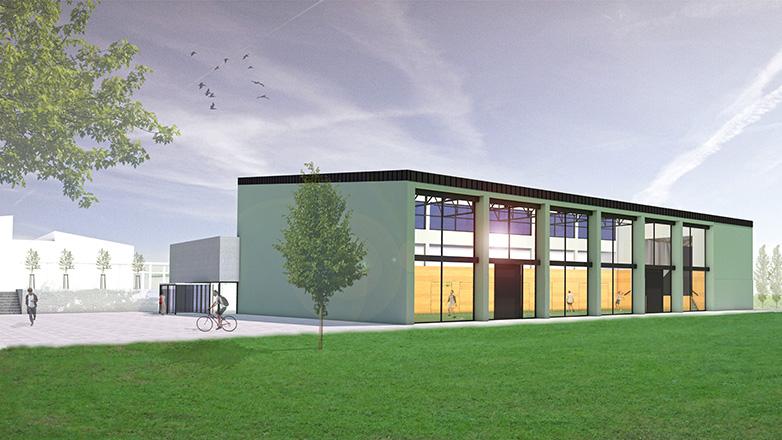 Sanierung und Erweiterung Hochrheinhalle in Gailingen