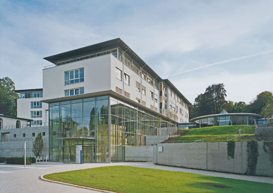 Neubau Ost-Klinik im Christophsbad Göppingen