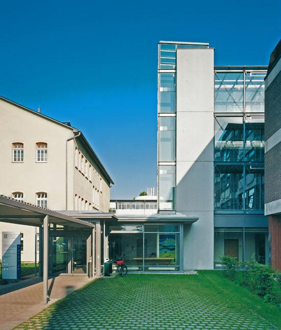 Neubau Ver- und Entsorgungbereich im Christophsbad Göppingen