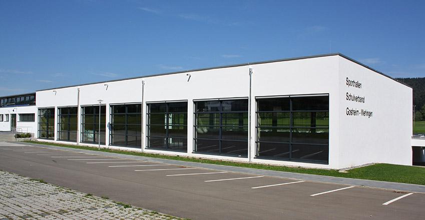 Umbau und Sanierung Geräteturnhalle in Gosheim-Wehingen