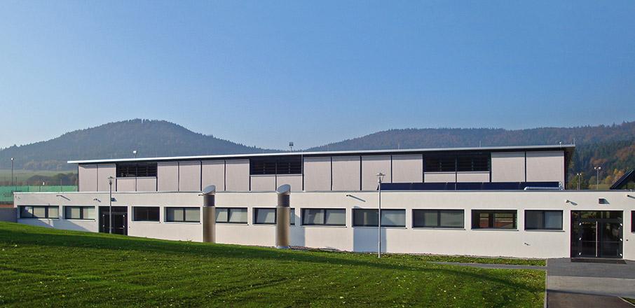Neubau Sporthalle mit Mensa in Wehingen