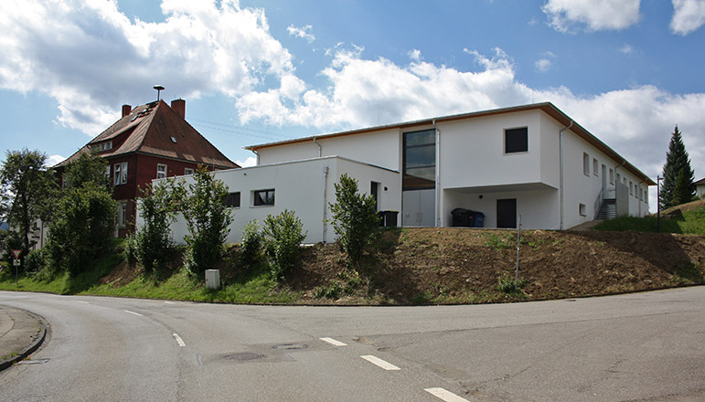 Ersatzneubau Mehrzweckhalle Hohenkarpfenhalle in Gunningen