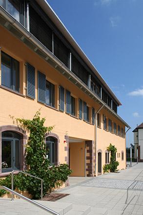Sanierung Verwaltungsgebäude der Stiftung St. Franziskus in Heiligenbronn
