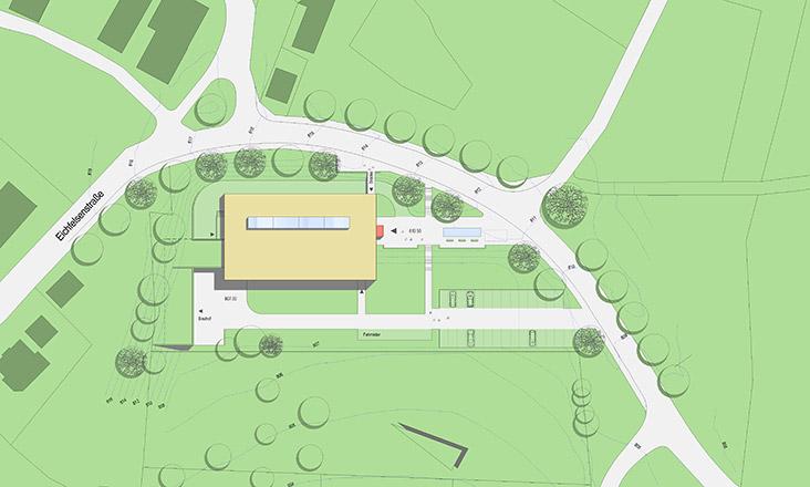Neubau Mehrzweckhalle in Irndorf