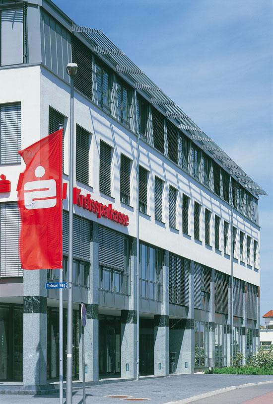 Neubau Kreissparkasse in Oschatz