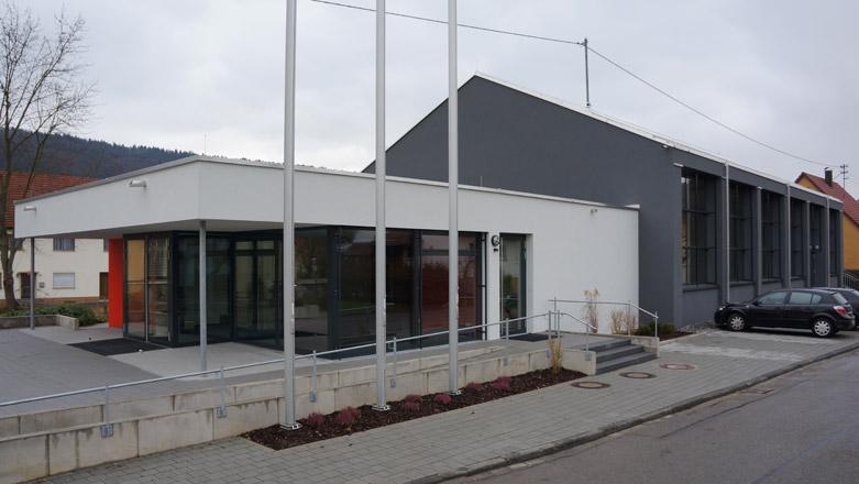 Sanierung und Erweiterung Jahnhalle in Rietheim-Weilheim