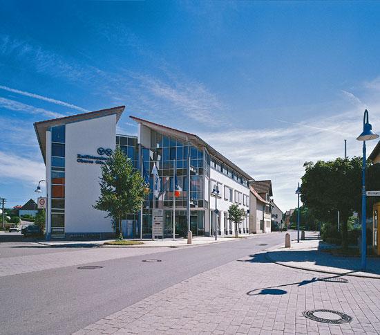 Neubau Raiffeisenbank in Rottenburg-Ergenzingen