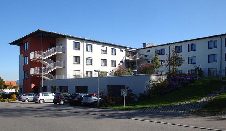 Neubau Altenpflegeheim St. Elisabeth in Rottweil