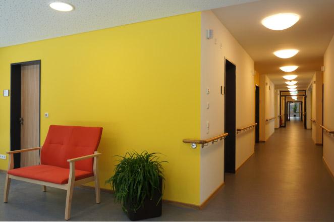Neubau Pflegeheim Spital am Nägelesgraben in Rottweil