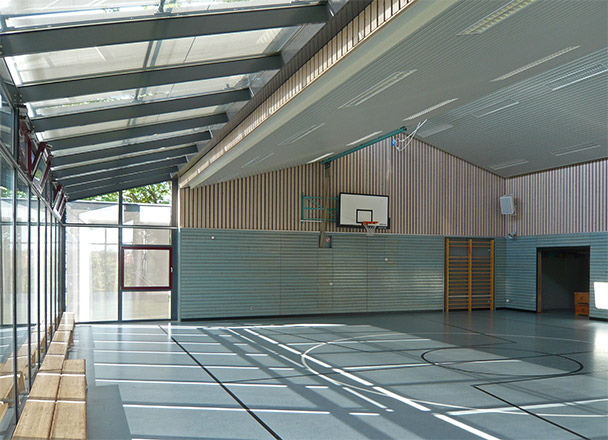 Sanierung Turnhalle und Lehrschwimmbecken in Rottweil