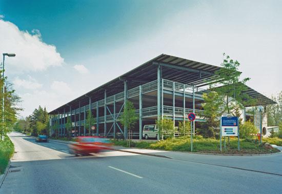 Neubau Parkhaus
