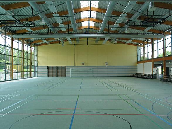 Neubau Sporthalle in Schömberg