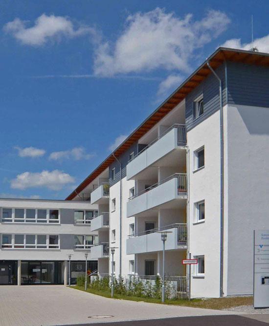 Neubau Seniorenzentrum Riedäcker in Schwäbisch Gmünd