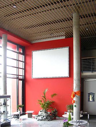 Neubau Ausstellungshalle Firma Armbruster in Schramberg-Sulgen