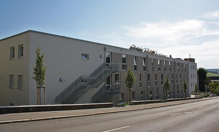 Neubau Betreutes Wohnen in Tübingen