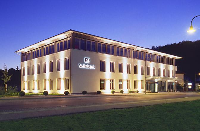 Neubau Volksbank in Wutöschingen