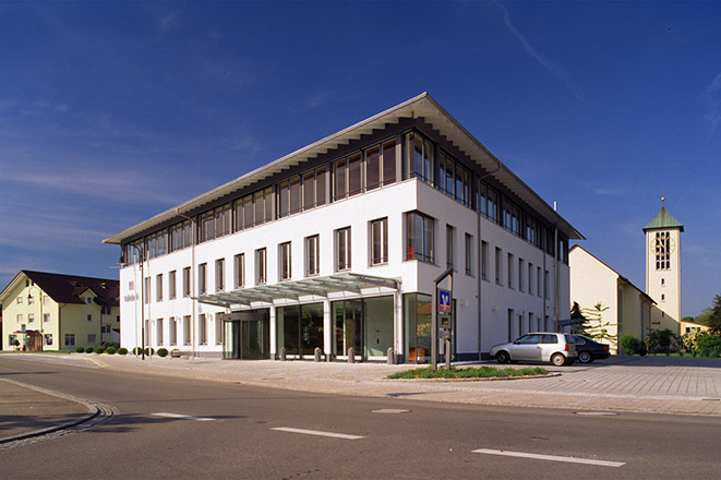 Neubau Volksbank in Wutöschingen