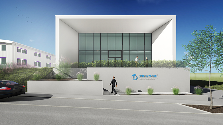 Produktionshalle Firma Wehl & Partner in Zimmern o.R.
