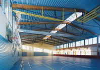 Sporthalle in Wellendingen