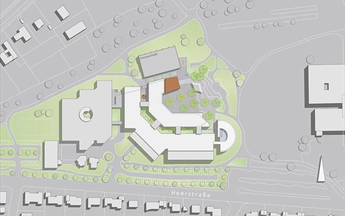 Umbau und Erweiterung Berufsschulzentrum in Rottweil