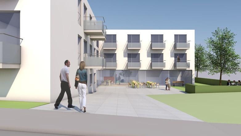 Neubau Altenpflegeheim in St. Johann / Südtirol